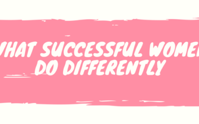 What Successful Women Do Differently