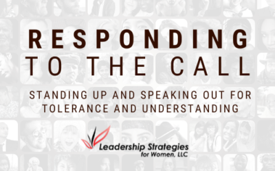 Responding to the Call: Standing Up and Speaking Out for Tolerance and Understanding